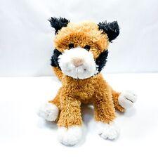 Douglas Cuddle Toy Calico Cat Plush Kitten Tan Black White 12in Stuffed Animal
