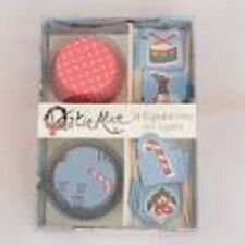 Katie Alice Yuletide 24 Sleigh Ride Cupcake Cases And Toppers