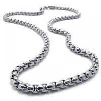 Stainless Steel Neck 20 Inch Jewelry Lover Gift Chain Necklace Pendant Women