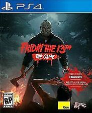 Friday the 13th: The Game (PlayStation 4, 2017) Brand NEW !!