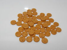 Lego Lot of 50 Gold Coins