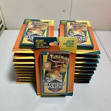 Walgreens Pokemon Mystery Pack Chase VINTAGE POKÉMON Pack 1:5 CHANCE! 5 Pack Lot
