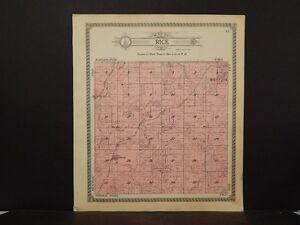 Iowa, Ringgold County Map, Rice Township 1915  J5#35