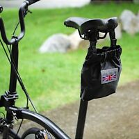 AGEKUSL Bike Tail Rear Bags For Brompton Bicycle Rear Saddle Bags Panniers