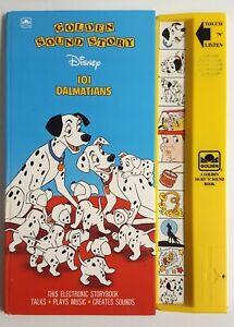 Disney 101 Dalmatians Golden Sound Story Play-a-Sound Book 1991