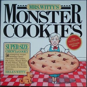 Cookbook, Helen Witty, Mrs Witty's Monster Cookies
