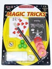 MAGIC TRICK SET FUN GIRLS BOYS TOY GIFT PARTY BAG CHRISTMAS STOCKING FILLER