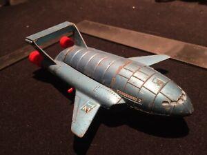 Vintage 1970s Dinky Thunderbird 2 Gen 2 Type 2