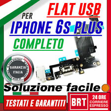 FLAT FLEX DOCK MODULO RICARICA USB PER IPHONE 6S PLUS PORTA CONNETTORE 24H!!!