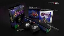 New Legend of Zelda Majora's Mask 3D 3DS Special Edition PAL Steelbook US