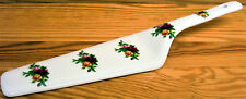 Country Roses Cake Server Fine Bone China Cake Slice Cake Pie Server