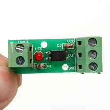 12V 1-Channel 80KHz Optocoupler Isolation Module Input No Din Rail Holder PLC