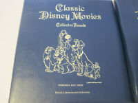 Classic Disney Movies Collector Panels, 2 Books