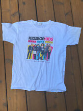 New listing Kidz Bop Kids Best Time Ever Youth Large T-Shirt 2017 Tour Dates Freddy Pomee