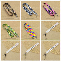 1 Pc EXO Leopard Nylon Neck Strap Lanyard ID Card Phone Keychain Holder