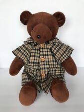 Vintage 1979 North American Bear Company Sherlock Bear Plush  Bearlock Holmes