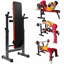 Multi-Station Weight Bench Press Fitness Weights Equipment Sit-up Bench GYM AU