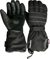 Weise Cambridge Black Mens Waterproof Motorcycle Gloves New
