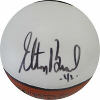 Elton Brand Hand Signed Autographed Mini Basketball Los Angeles Clippers BLK Ink