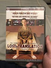 Lost in Translation (Dvd, 2004, Pan Scan)