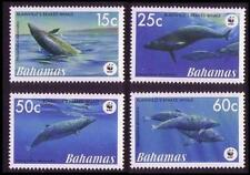Mint Never Hinged/MNH Whales Bahamian Stamps (Pre-1973)