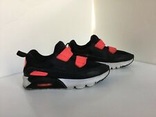 f0f39ec855 GIRLS BLACK AND HOT PINK HIGH TOPS NIKE AIR MAX, SIZE 2 USA,SIZE