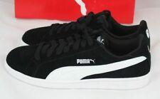 Puma men's smash SD fashion sneaker black white size 10