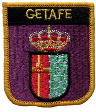 Getafe Spain Shield Embroidered Patch