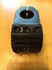 Mongoose 6 Bolt BMX Stem - 1 1/8 - 22.2mm X 50mm - 0 Degree Rise Topload