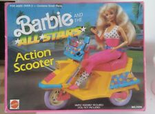Barbie and the All Stars, Action Scooter 1989 nrfb