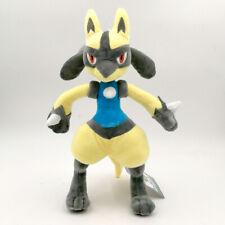 "Lucario Aura Pokemon Plush Toy From Riolu Fighting Pokedoll Stuffed Animal 12"""