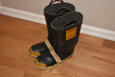 Servus Firefighter Turnout Fire Boots, 72S4, Mens Size 11.5 WIDE, 12 M, Used VGC
