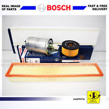 BOSCH SERVICE KIT JAGUAR X-TYPE 2.0D 2.2D OIL AIR FUEL CABIN FILTERS