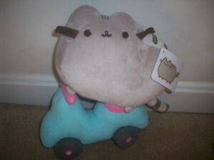"""NWT Pusheen on Scooter 10"""" Plush Exclusive"""