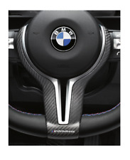 BMW 3 Series F80 Carbon Fiber M Performance Steering Wheel Cover 32302345203