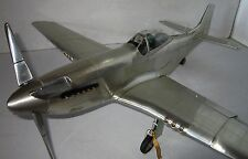 P51 Mustang WWII Aluminum Desktop Model