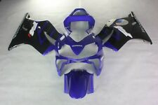 ABS Fairing bodykits Fit Honda CBR600F4i 01-03 2001-2003 red and blue injection