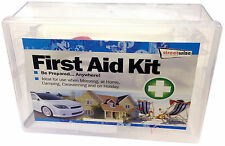 Streetwize 40pce Portable Medical First Aid Kit for Home, Car, Caravan Motorhome