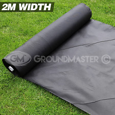 More details for 2m wide groundmaster weed control fabric landscape ground cover  membrane