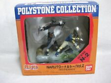 Naruto Polystone Collection Figure Scene N-2 Sasuke & Kakashi Japan Official