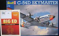 REVELL 04877 - C-54D SKYMASTER + Eduard BIG ED Set 72103 - 1:72 - Bausatz Kit