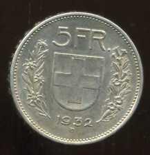 SUISSE 5 francs 1932 ARGENT