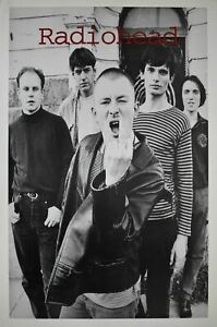 Radiohead Middle Finger up Band Shot 23 x 35
