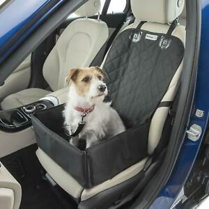 MuttStuff & Co Dog Car Seat - Booster Seats for Dogs - Waterproof Puppy Bed -