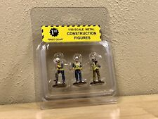 1/50 SCALE FIRST GEAR DIECAST METAL CONSTRUCTION WORKERS FIGURES 3PC SET