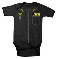 """NWT Smooth Industries """"Mechanix Wear"""" Infant Romper, 6-12 month"""