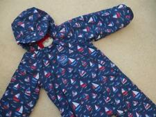 BRAND NEW JOJO MAMAN BEBE Waterproof All In One Fleece Lined SNOWSUIT 18-24m