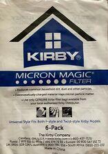 Genuine Kirby Micron Magic Cloth Vacuum Cleaner Bags 204811G - 6 Pack