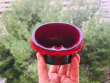 🔴 Portacenere UFO in ceramica ORIGINALE anni 70 SPACE AGE pottery ashtray