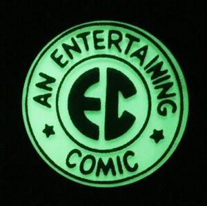 EC COMICS (ENTERTAINING COMICS) GLOW-IN-THE-DARK METAL KEY RING